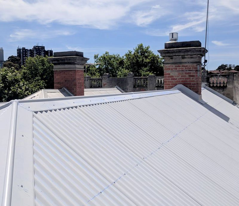Metal roofing is more affordable COLORBOND roofing