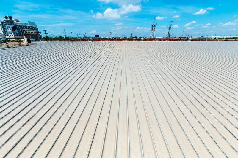 Metal roof maintenance