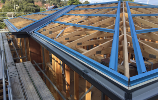 new metal roof installation