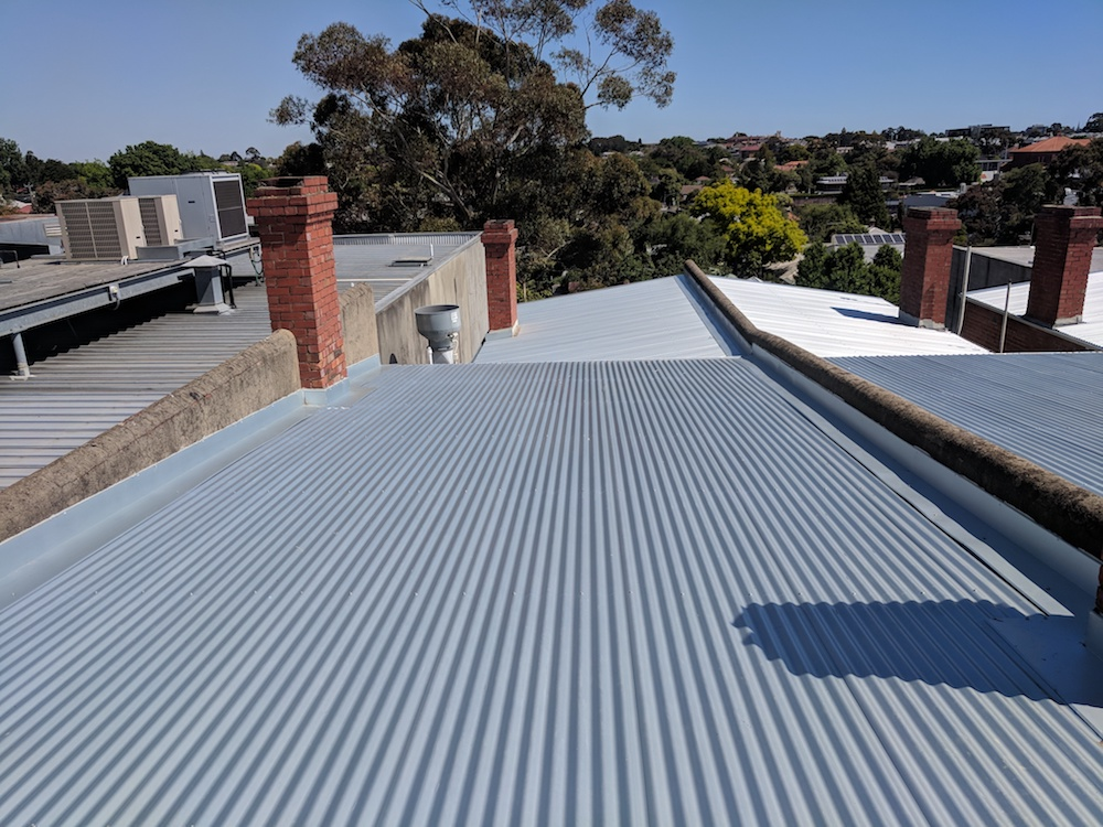 COVID-safe new roof installation