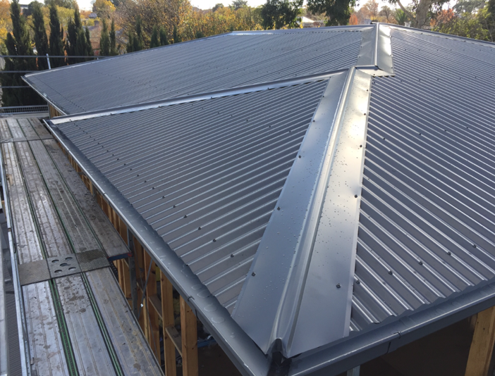 Metal roofing in Melbourne